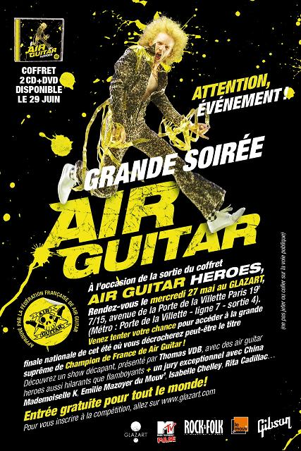Concours Air Guitar France 2008
